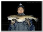 Kevin Chiu and his 6lb 4oz cod