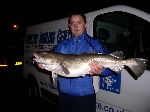 Lee Welch and his 10lb 1oz cod